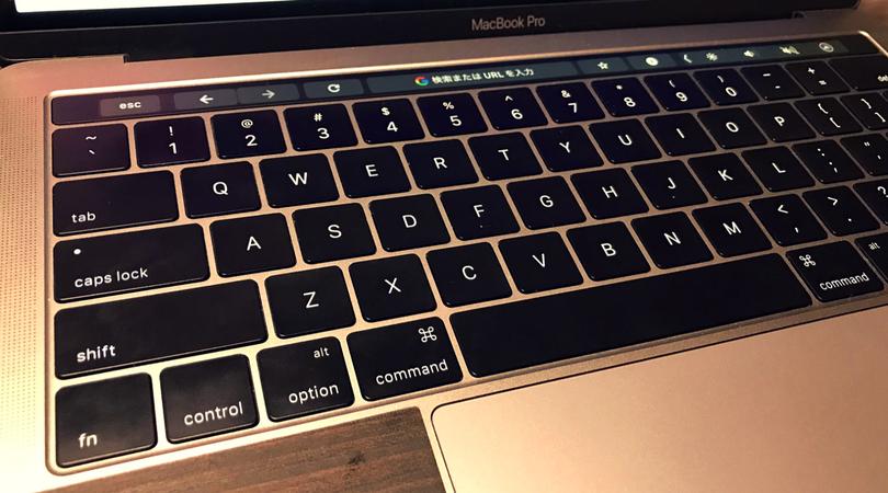 MacBook Proの第2世代バタフライキーボード