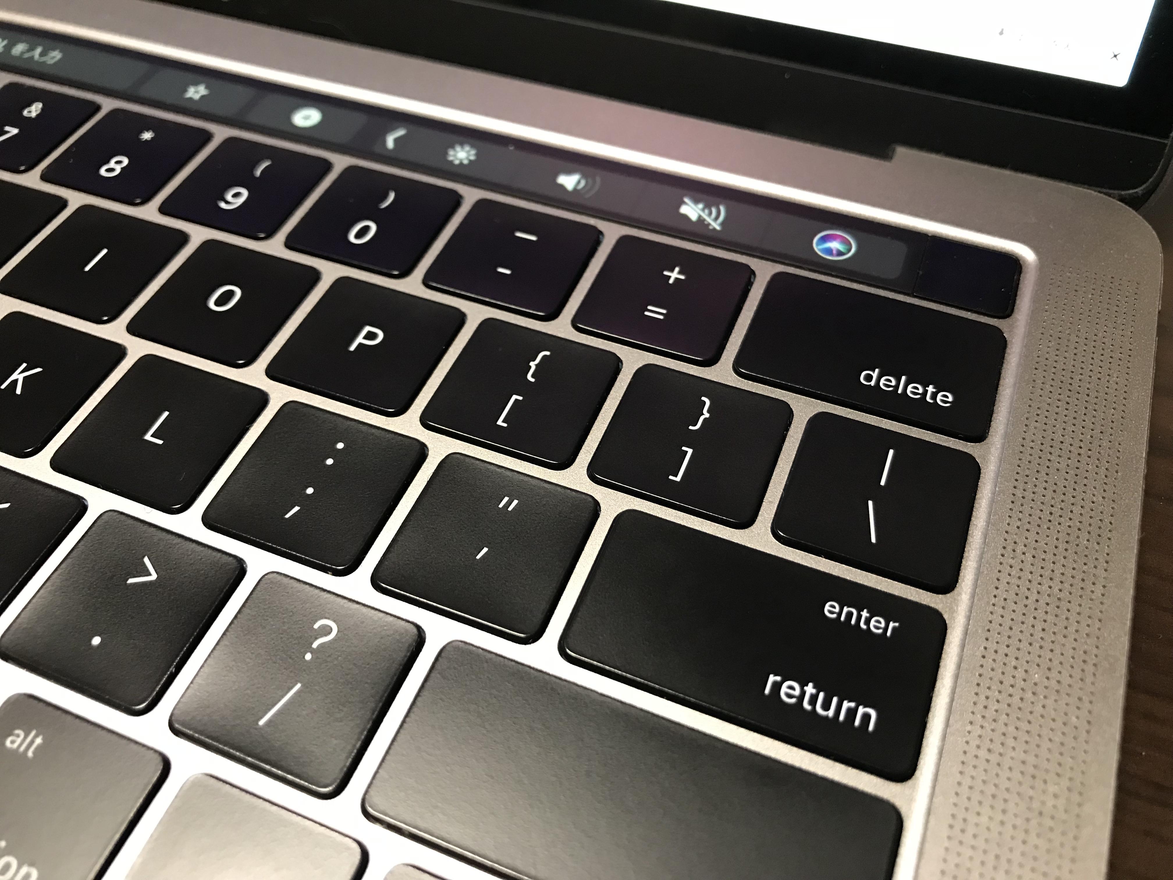 MacBook Pro2016はスピーカーがいい感じ