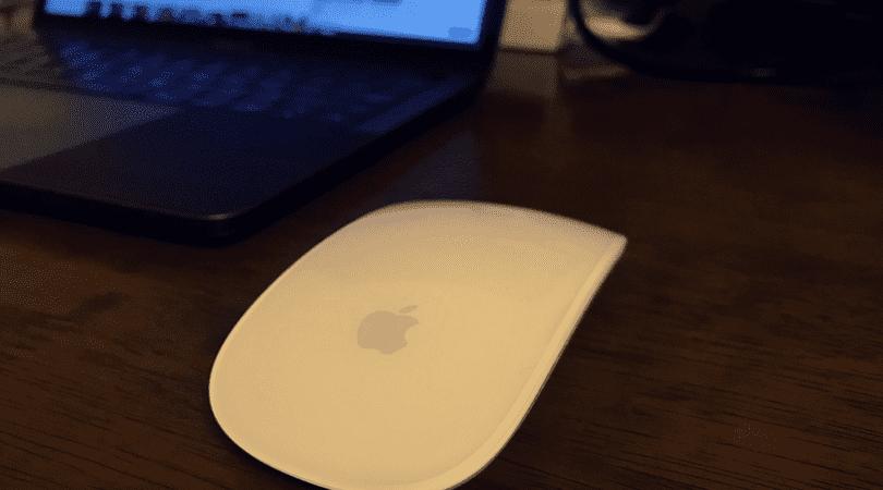 Appleの純正マウスをつかって