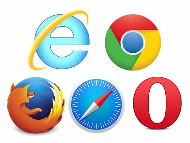 Chrom、Internet Explorerなどのブラウザソフトを立ち上げる