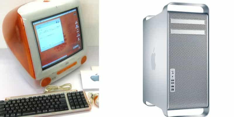 昔販売されたMacたち