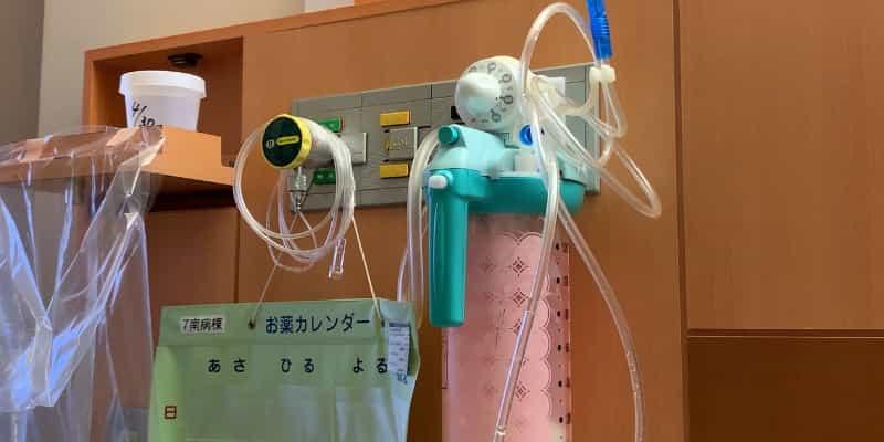 酸素量を測る機械